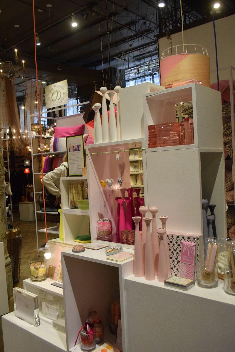 Pink Display at ABC Home