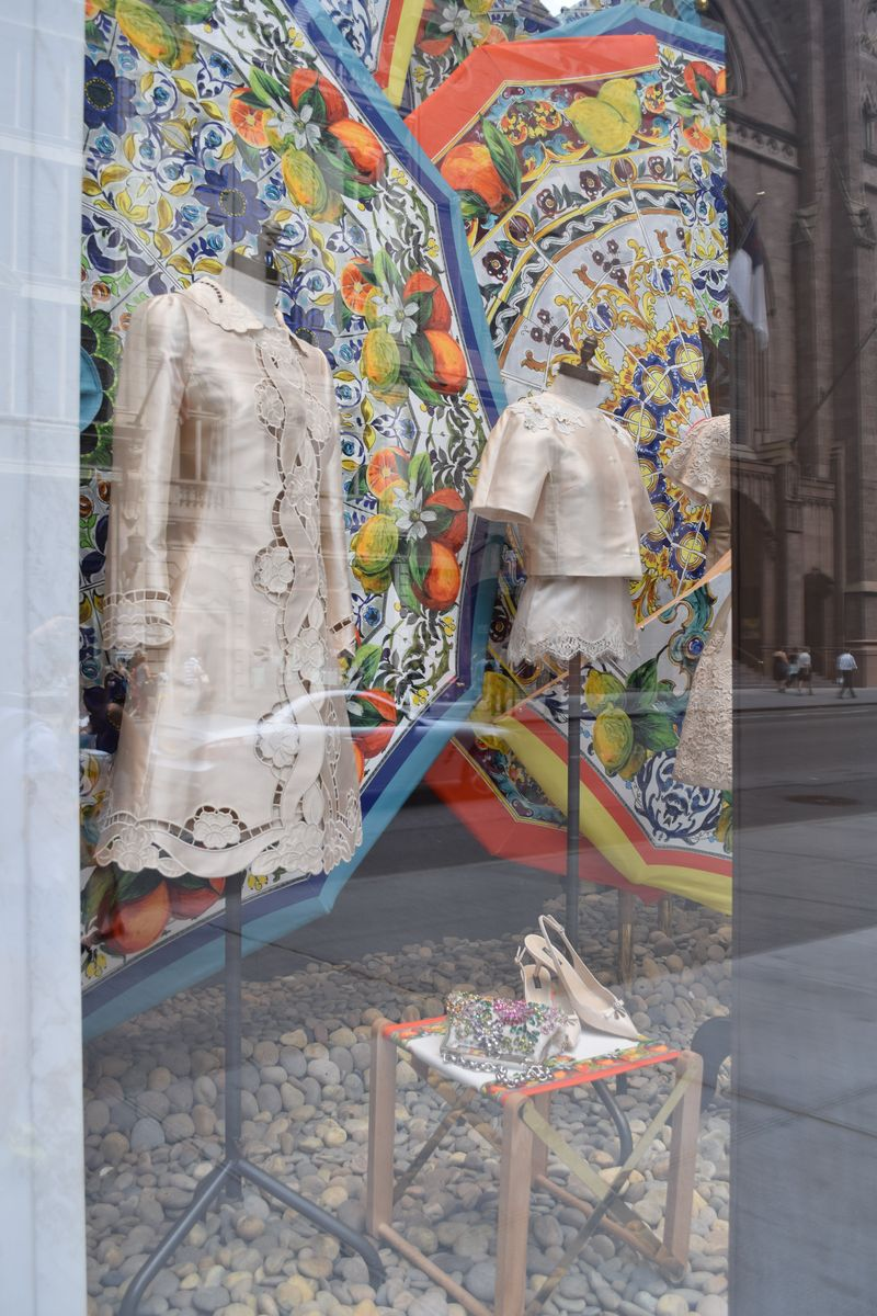 Dolce & Gabbana Window