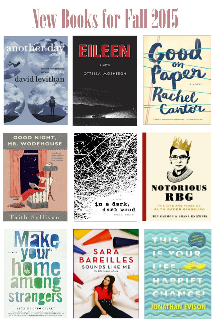 New Books for Fall 2015