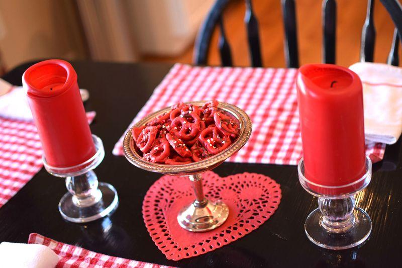 Valentines Candy Dish