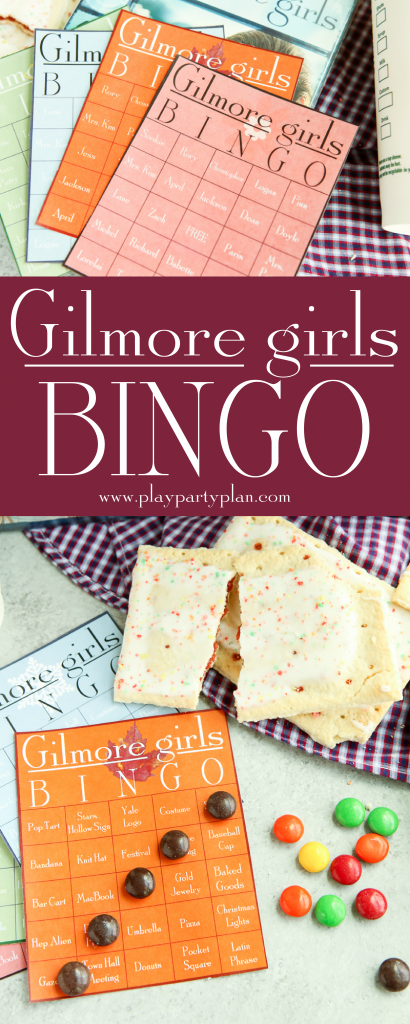 Gilmore Girls Bingo