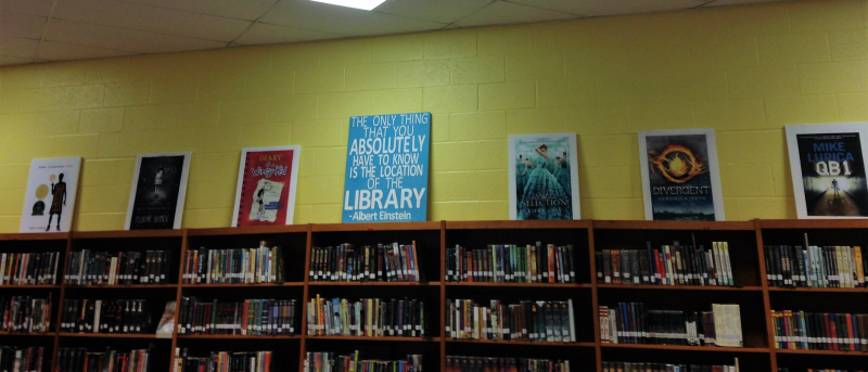 Middle school Library Book Posters 1