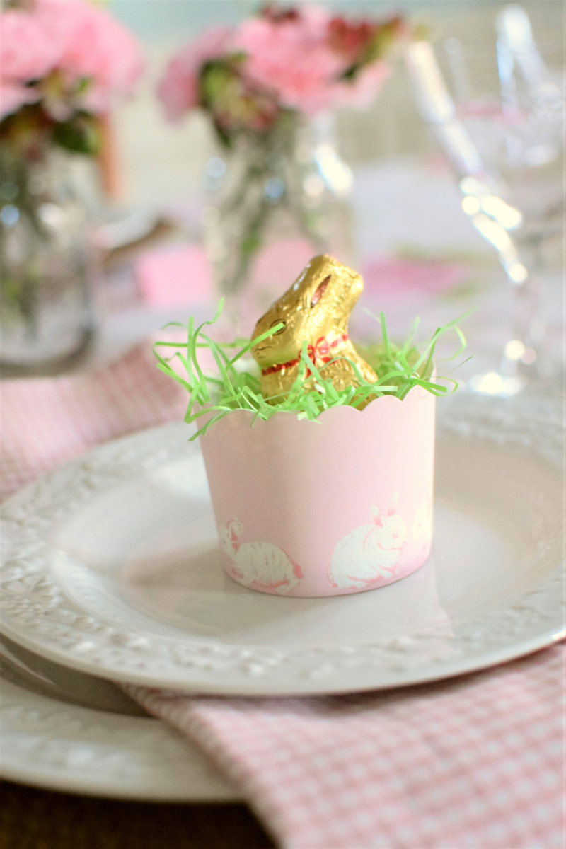 Pink Easter Tablescape 1