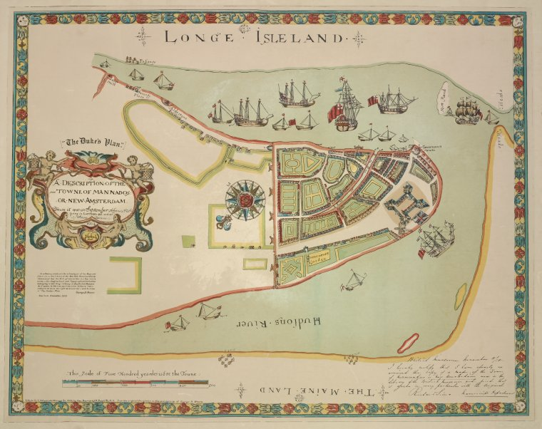 Longe island 1661