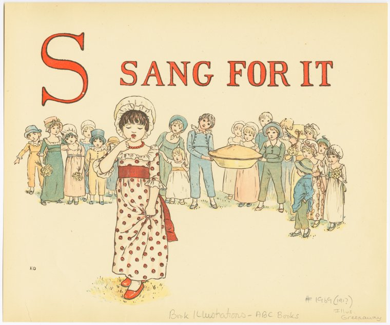 Sang for it