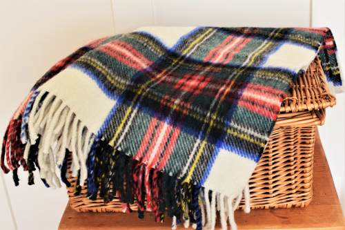 NN10-Dress Stewart Plaid Blanket