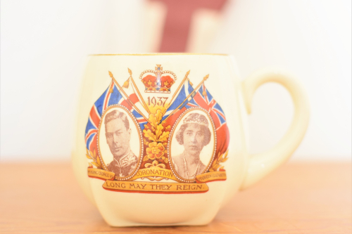 NN9-George and Elizabeth Mug